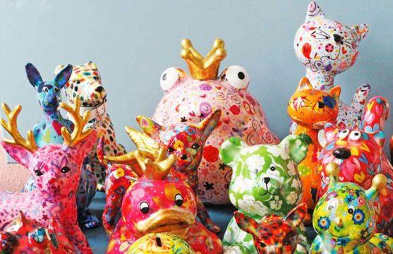 ΚΟΥΜΠΑΡΑΔΕΣ-Pomme Pidou Διακοσμητικοί κουμπαράδες διακοσμητικοι κουμπαραδες